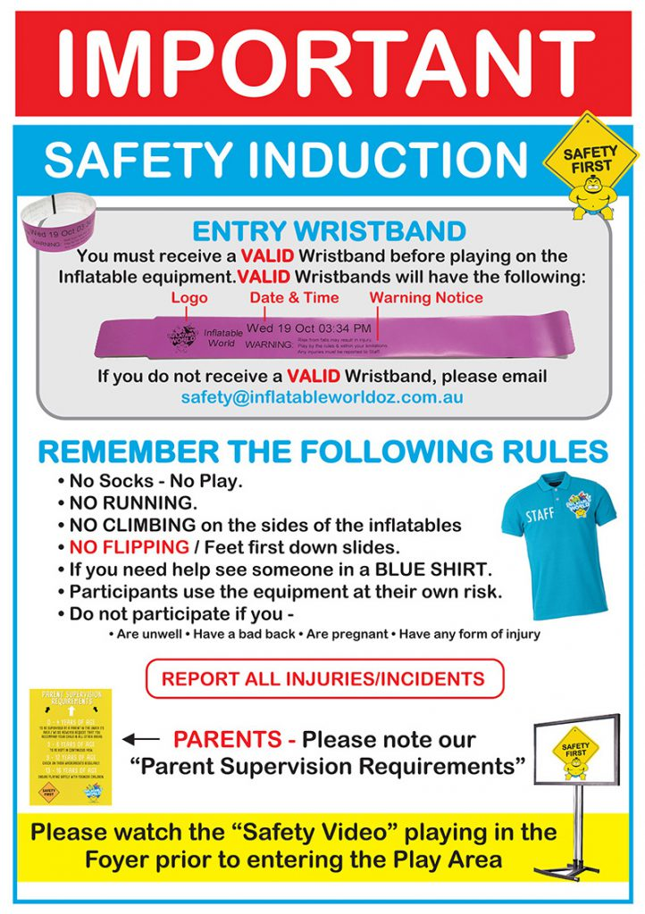 Safety Induction sign - revised final 2.11.2016